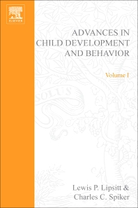 Advances in Child Development and Behavior - 1st Edition - ISBN: 9780120097012, 9780080565736