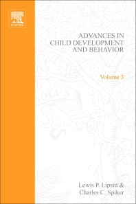Advances in Child Development and Behavior - 1st Edition - ISBN: 9780120097036, 9780080565750