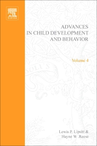 Advances in Child Development and Behavior - 1st Edition - ISBN: 9780120097043, 9780080565767