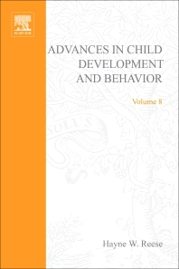 Advances in Child Development and Behavior - 1st Edition - ISBN: 9780120097081, 9780080565804