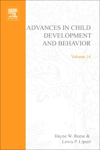 Advances in Child Development and Behavior - 1st Edition - ISBN: 9780120097142, 9780080565866