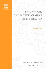 Advances in Child Development and Behavior - 1st Edition - ISBN: 9780120097159, 9780080565873