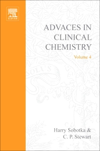Advances in Clinical Chemistry - 1st Edition - ISBN: 9780120103041, 9780080566023
