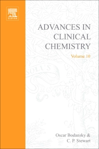 Advances in Clinical Chemistry - 1st Edition - ISBN: 9780120103102, 9780080566085