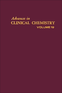 Advances in Clinical Chemistry - 1st Edition - ISBN: 9780120103195, 9780080566177