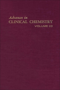 Advances in Clinical Chemistry - 1st Edition - ISBN: 9780120103232, 9780080566214