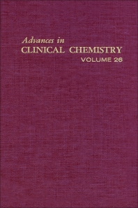 Advances in Clinical Chemistry - 1st Edition - ISBN: 9780120103263, 9780080566245