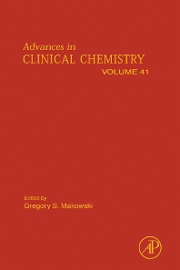 Advances in Clinical Chemistry, 1st Edition,Gregory Makowski,ISBN9780120103416