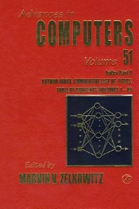 Cumulative Subject and Author Indexes for Volumes 1-49, Part II, 1st Edition,Marvin Zelkowitz,ISBN9780120121519
