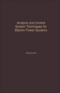 Control and Dynamic Systems V42: Analysis and Control System Techniques for Electric Power Systems Part 2 - 1st Edition - ISBN: 9780120127429, 9780323148733
