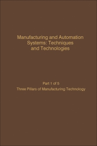 Cover image for Manufacturing and Automation Systems: Techniques and Technologies, Part 5 of 5