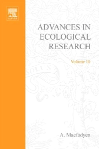 Advances in Ecological Research - 1st Edition - ISBN: 9780120139101, 9780080566948