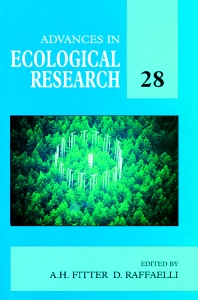 Advances in Ecological Research, 1st Edition,Alastair Fitter,Dave Raffaelli,ISBN9780120139286
