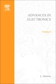 Cover image for Advances in Electronics and Electron Physics