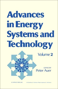Advances in Energy Systems and Technology - 1st Edition - ISBN: 9780120149025, 9781483191263