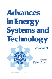 Advances in Energy Systems and Technology - 1st Edition - ISBN: 9780120149032, 9781483191270