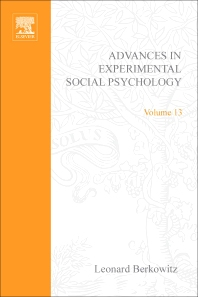Advances in Experimental Social Psychology - 1st Edition - ISBN: 9780120152131, 9780080567273