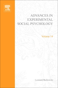 Advances in Experimental Social Psychology - 1st Edition - ISBN: 9780120152148, 9780080567280
