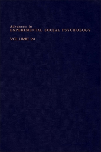 Advances in Experimental Social Psychology - 1st Edition - ISBN: 9780120152247, 9780080567389