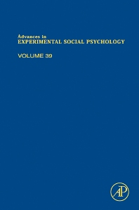 Advances in Experimental Social Psychology, 1st Edition,Mark Zanna,ISBN9780120152391