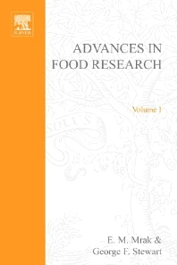 Advances in Food Research - 1st Edition - ISBN: 9780120164011, 9780080567464