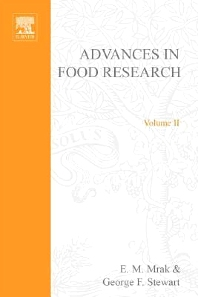 Advances in Food Research - 1st Edition - ISBN: 9780120164028, 9780080567471
