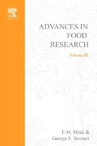 Advances in Food Research - 1st Edition - ISBN: 9780120164035, 9780080567488