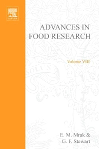 Advances in Food Research - 1st Edition - ISBN: 9780120164080, 9780080567532