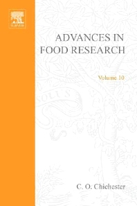 Advances in Food Research - 1st Edition - ISBN: 9780120164103, 9780080567556