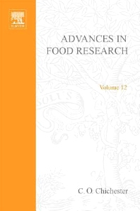 Cover image for Advances in Food Research