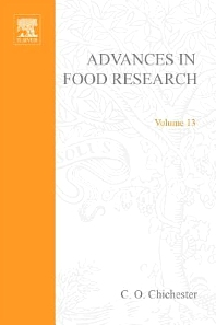 Advances in Food Research - 1st Edition - ISBN: 9780120164134, 9780080567587
