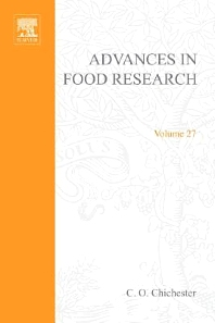 Advances in Food Research - 1st Edition - ISBN: 9780120164271, 9780080567723
