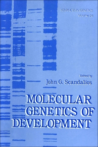 Advances in Genetics - 1st Edition - ISBN: 9780120176243, 9780080568119