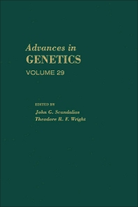 Advances in Genetics - 1st Edition - ISBN: 9780120176298, 9780080568164