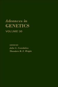 Advances in Genetics - 1st Edition - ISBN: 9780120176304, 9780080568171
