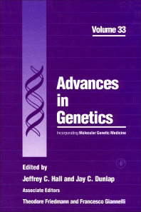 Advances in Genetics - 1st Edition - ISBN: 9780120176335, 9780080568201