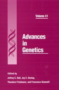 Advances in Genetics, 1st Edition,Jeffrey Hall,Jay Dunlap,Theodore Friedmann,Francesco Giannelli,ISBN9780120176410