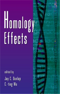 Homology Effects, 1st Edition,C-ting Wu,Jay Dunlap,ISBN9780120176465