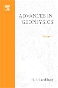 Advances in Geophysics - 1st Edition - ISBN: 9780120188031, 9780080568317