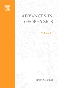 Advances in Geophysics - 1st Edition - ISBN: 9780120188239, 9780080568522