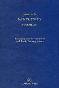 Advances in Geophysics - 1st Edition - ISBN: 9780120188390, 9780080568690