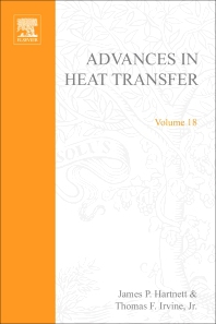 Cover image for Advances in Heat Transfer