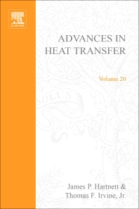 Advances in Heat Transfer - 1st Edition - ISBN: 9780120200207, 9780080575742