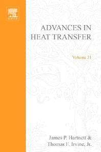 Advances in Heat Transfer, 1st Edition,James Hartnett †,Thomas Irvine,George Greene,Young Cho,ISBN9780120200313