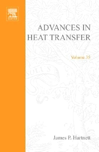 Advances in Heat Transfer, 1st Edition,James Hartnett †,Thomas Irvine,Young Cho,George Greene,ISBN9780120200351