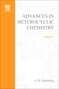 Advances in Heterocyclic Chemistry - 1st Edition - ISBN: 9780120206056, 9780080575926