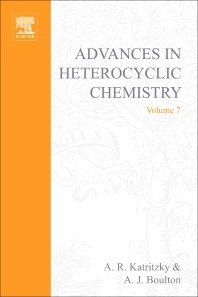 Advances in Heterocyclic Chemistry - 1st Edition - ISBN: 9780120206070, 9780080575940