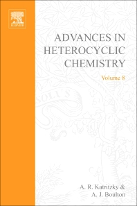 Advances in Heterocyclic Chemistry - 1st Edition - ISBN: 9780120206087, 9780080575957
