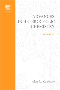 Advances in Heterocyclic Chemistry, 1st Edition,Alan Katritzky,ISBN9780120207596