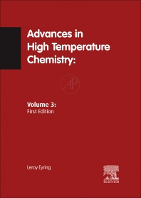 Advances in High Temperature Chemistry V3 - 1st Edition - ISBN: 9780120215034, 9780323156967